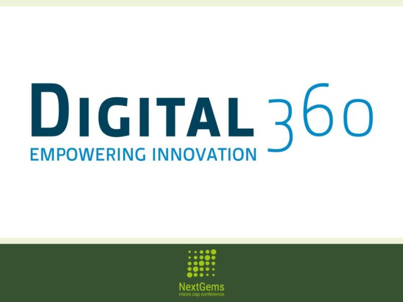 DIGITAL360 tra i partecipanti a NEXT GEMS